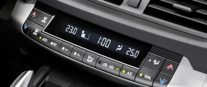 a car aircon control